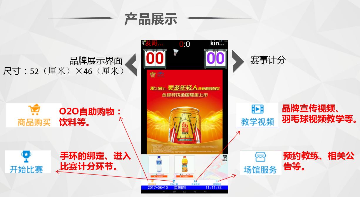 深圳羽毛球馆广告形式