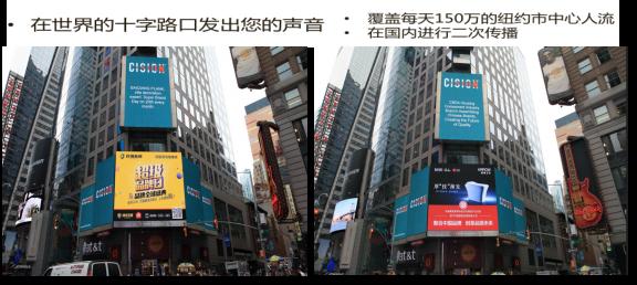 美国纳斯达克路透社LED大屏广告