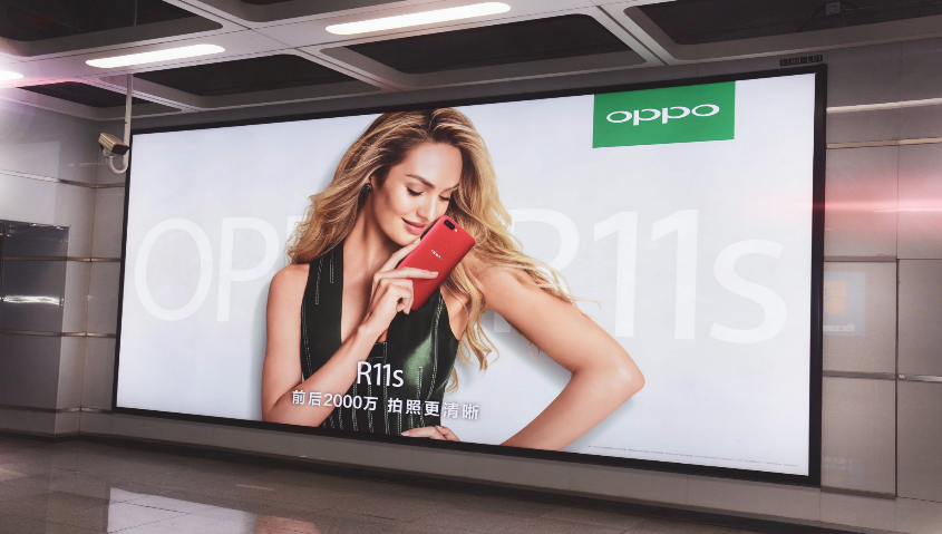 深圳地铁大型灯箱广告